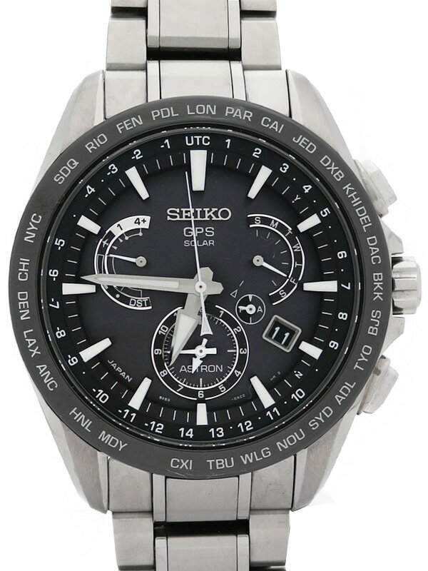【SEIKO】セイコー『アストロン』SBXB077 8X53-0AD0 5N****番 メンズ ソーラーGPS 1ヶ月保証【中古】