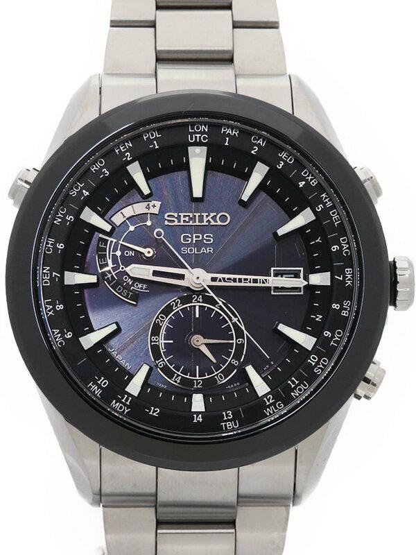 【SEIKO】セイコー『アストロン』SAST003 7X52-0AA0 32****番 メンズ ソーラーGPS 1ヶ月保証【中古】