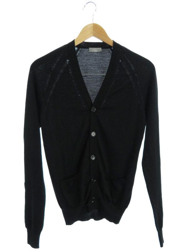 【Dior】【トップス】ディオール『ウールカーディガン sizeXS』メンズ 1週間保証【中古】