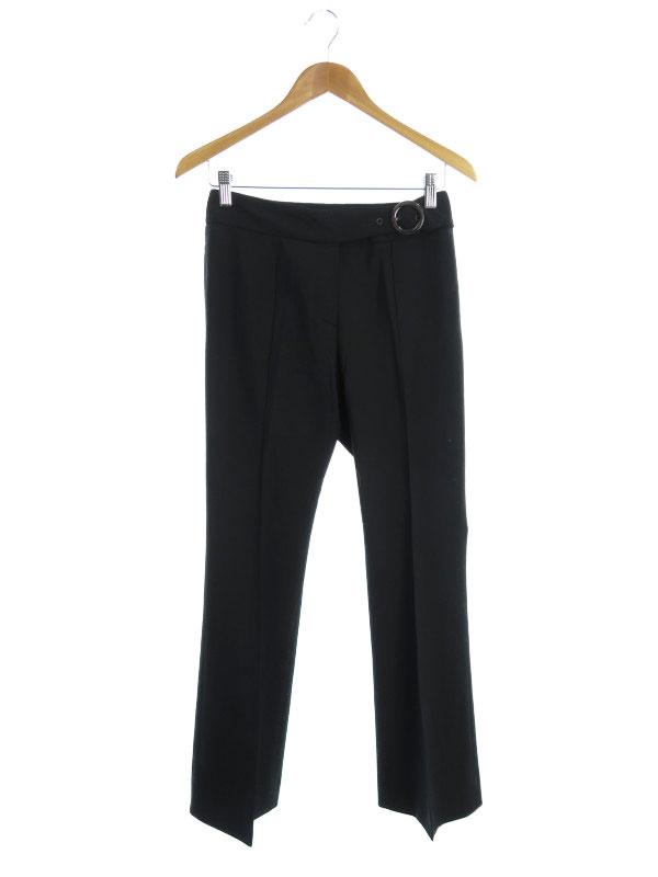 【FENDI】【ボトムス】フェンディ『ウール混パンツ size38』レディース ズボン 1週間保証【中古】