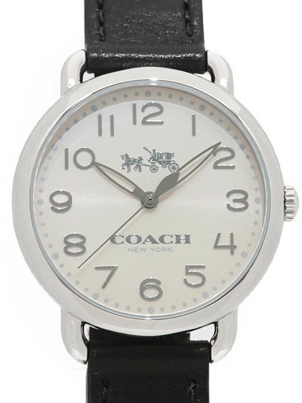 【COACH】【美品】コーチ『デランシー』14502714 レディース クォーツ 1週間保証【中古】