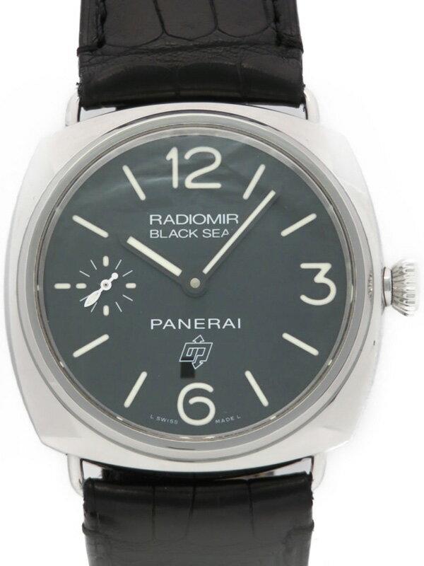 【PANERAI】パネライ『ラジオミール ブラックシール ロゴ』PAM00380 S番'16年製 メンズ 手巻き 6ヶ月保証【中古】