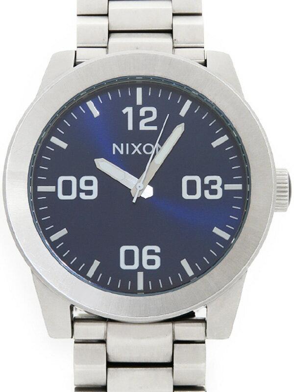 【NIXON】【電池交換済】ニクソン『コーポラル』A3461258 メンズ クォーツ 1週間保証【中古】