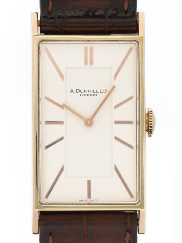 【dunhill】【電池交換済】ダンヒル『ウェイファー』8044 メンズ クォーツ 1ヶ月保証【中古】