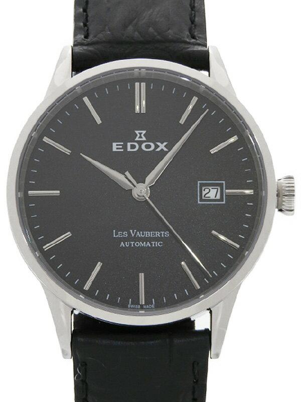 【EDOX】【裏スケ】エドックス『レ・ヴォベール』80081-3-NIN メンズ 自動巻き 1週間保証【中古】