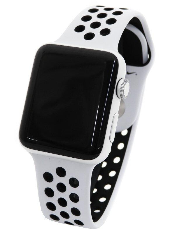 【Apple】【アップルウォッチ シリーズ3】アップル『Apple Watch Series3 Nike+ 42mm GPSモデル』MQL32J/A ボーイズ スマートウォッチ 1週間保証【中古】