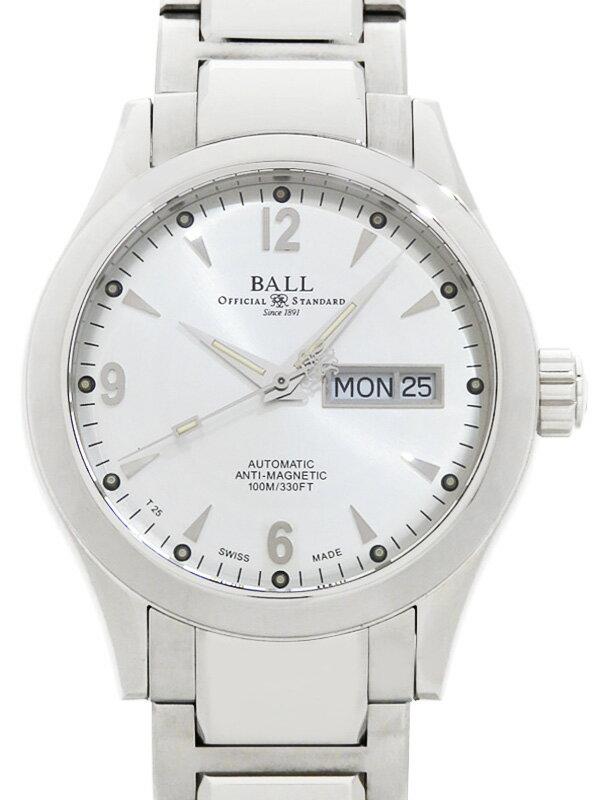 【BALL】【OH・仕上済】ボール『エンジニア2 オハイオ』NM1020C-S5J-SL メンズ 自動巻き 1ヶ月保証【中古】