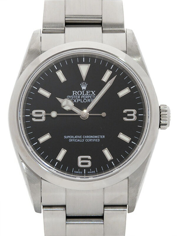 【ROLEX】ロレックス『エクスプローラー1』114270 Z番'06年頃製 メンズ 自動巻き 12ヶ月保証【中古】