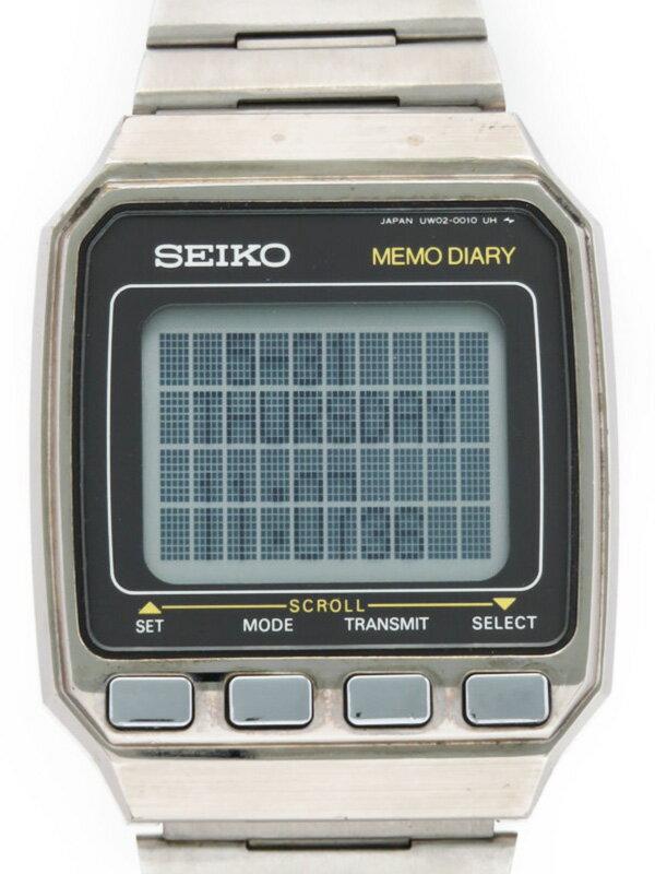 【SEIKO】セイコー『データバンク』UW02-0010 49****番 メンズ クォーツ 1週間保証【中古】