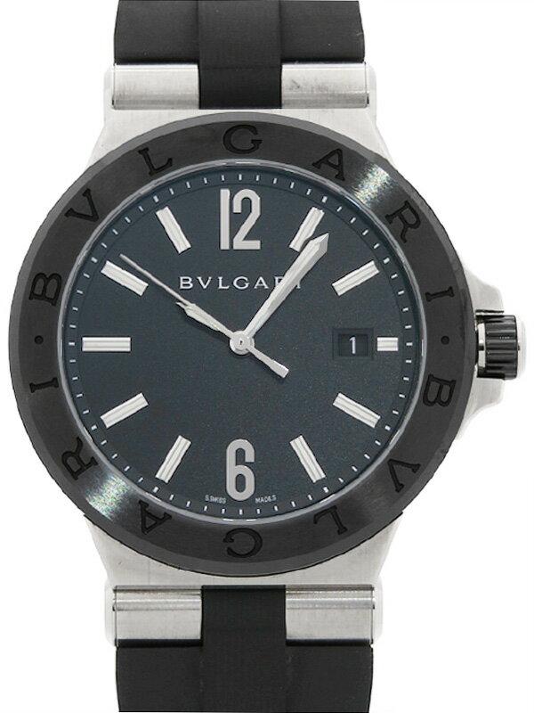 【BVLGARI】ブルガリ『ディアゴノ セラミック』DG42SC メンズ 自動巻き 3ヶ月保証【中古】