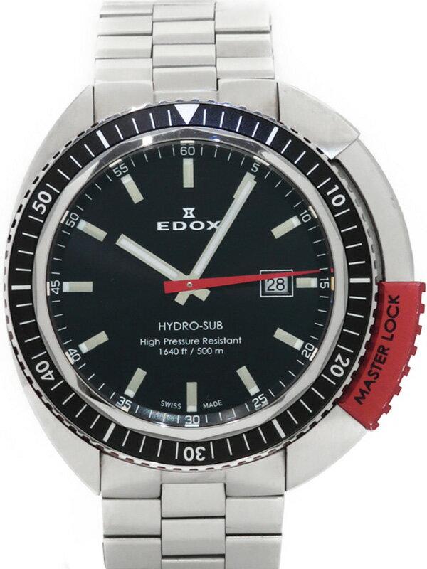 【EDOX】エドックス『ハイドロサブ 500m』53200-3NRM-NIN メンズ クォーツ 1週間保証【中古】