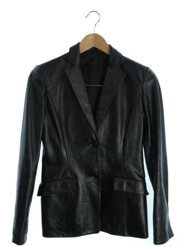 【ANAYI】【アウター】アナイ『レザージャケット size36』レディース 1週間保証【中古】