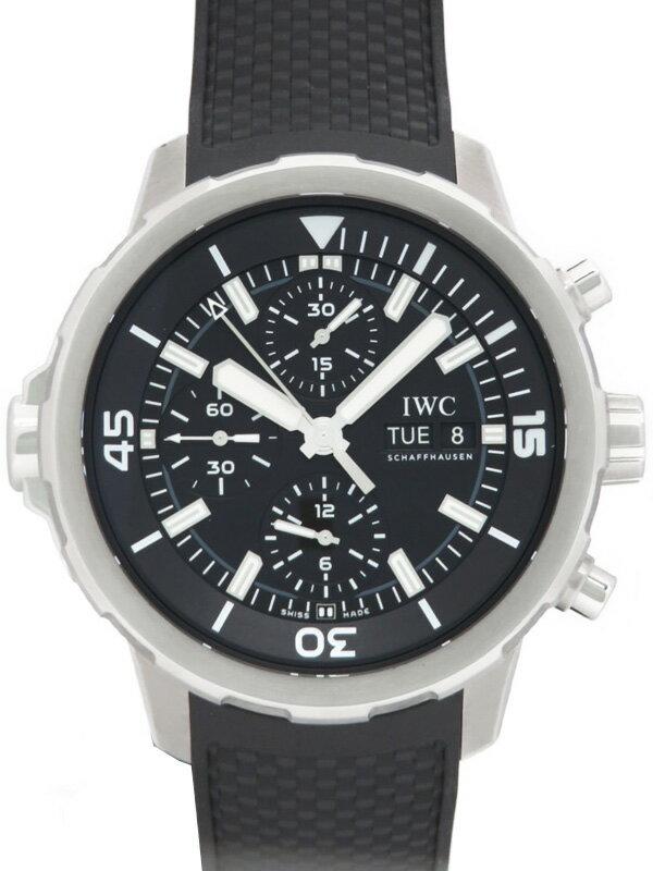 【IWC】インターナショナルウォッチカンパニー『アクアタイマー クロノグラフ』IW376803 メンズ 自動巻き 6ヶ月保証【中古】