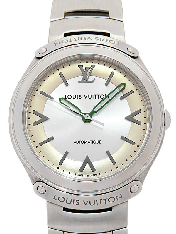 【LOUIS VUITTON】ルイヴィトン『フィフティファイブ』Q6G220 メンズ 自動巻き 3ヶ月保証【中古】