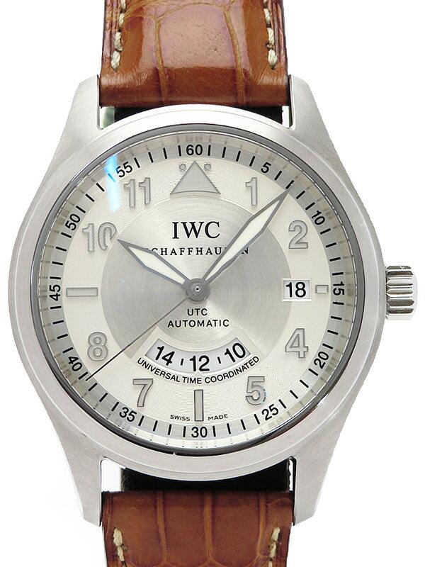 【IWC】インターナショナルウォッチカンパニー『スピットファイア UTC』IW325110 メンズ 自動巻き 3ヶ月保証【中古】