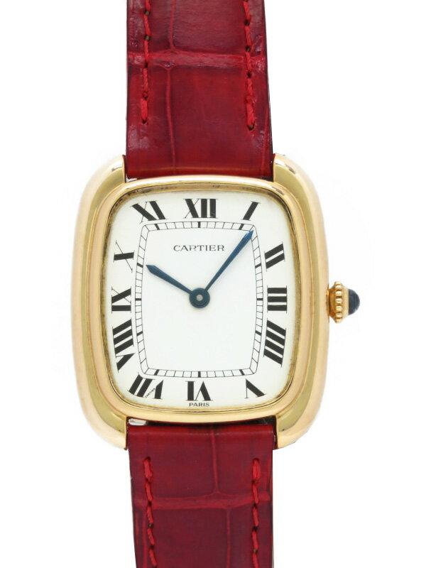 【Cartier】【YGケース】【OH済】カルティエ『ゴンドーロLM』ボーイズ 自動巻き 3ヶ月保証【中古】