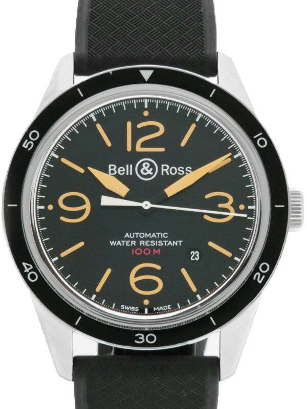 【Bell&Ross】【裏スケ】【OH済】ベルアンドロス『BR123 スポーツ ヘリテージ』V-BR123SPORT-HERI-R メンズ 自動巻き 3ヶ月保証【中古】