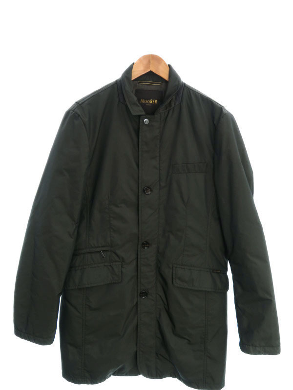 【MOORER】【アウター】ムーレー『中綿コート size50』メンズ 1週間保証【中古】