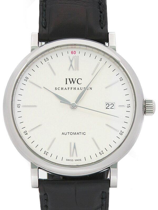 【IWC】インターナショナルウォッチカンパニー『ポートフィノ オートマティック』IW356501 メンズ 自動巻き 3ヶ月保証【中古】