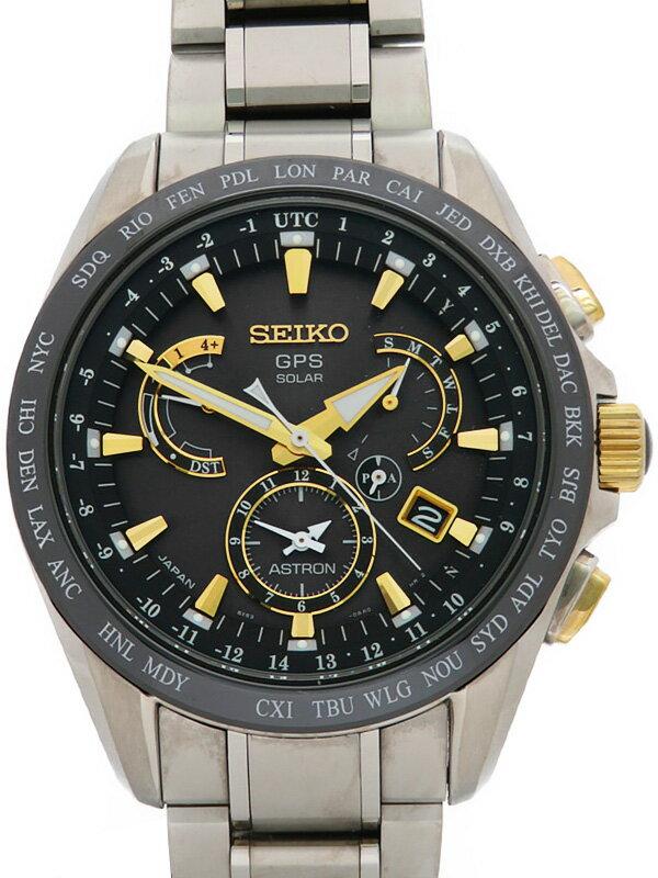 【SEIKO】セイコー『アストロン』SBXB073 8X53-0AB0 5D****番 メンズ ソーラーGPS 1ヶ月保証【中古】