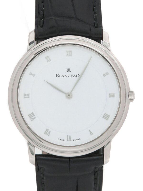 【BLANCPAIN】【裏スケ】ブランパン『ヴィルレ ウルトラスリム』メンズ 手巻き 6ヶ月保証【中古】