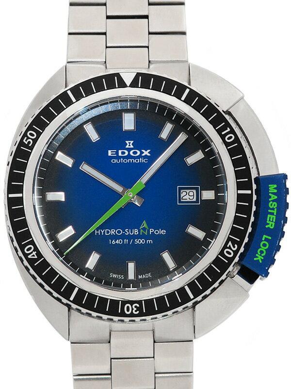 【EDOX】【世界限定515本】【内部点検済】エドックス『ハイドロサブ 50周年記念モデル』80301-3NBU-NBU メンズ 自動巻き 1ヶ月保証【中古】