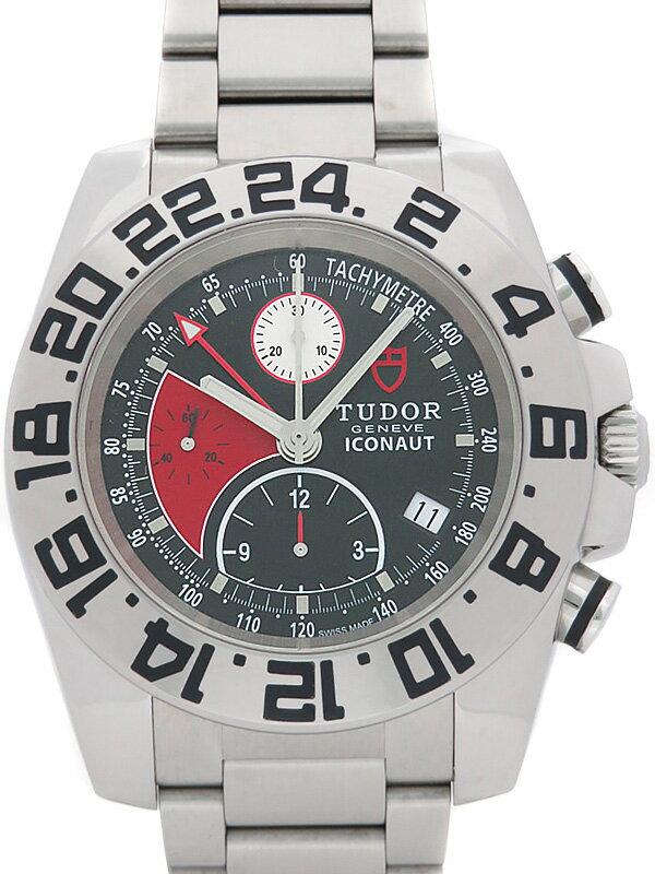 【TUDOR】チュードル『アイコノート GMT クロノグラフ』20400 メンズ 自動巻き 3ヶ月保証【中古】