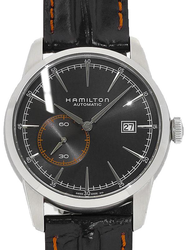 【HAMILTON】【裏スケ】ハミルトン『レイルロード』H40515731 メンズ 自動巻き 1ヶ月保証【中古】