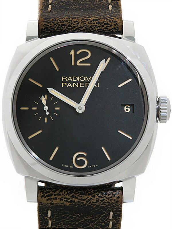 【PANERAI】【裏スケ】パネライ『ラジオミール 1940 3デイズ』PAM00514 P番'13年製 メンズ 手巻き 6ヶ月保証【中古】