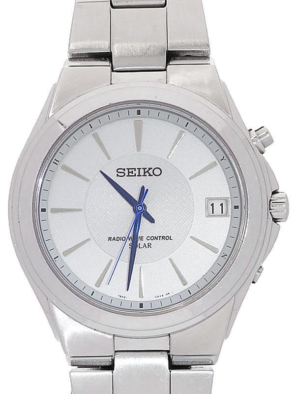 【SEIKO】セイコー『スピリット』SBTM089 7B42-0AL0 0N****番 メンズ ソーラー電波クォーツ 1週間保証【中古】