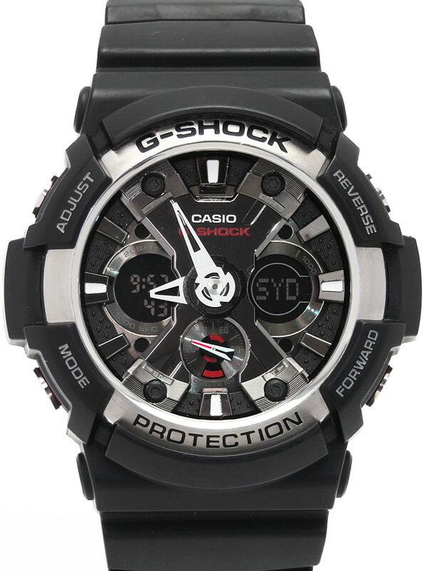 【CASIO】【G-SHOCK】カシオ『Gショック』GA-200-1AJF メンズ クォーツ 1週間保証【中古】