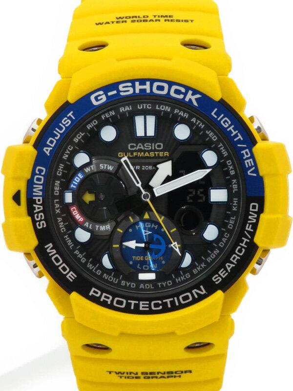【CASIO】【G-SHOCK】【'18年購入】カシオ『Gショック ガルフマスター』GN-1000-9AJF メンズ クォーツ 1週間保証【中古】