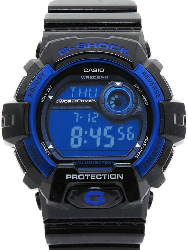 【CASIO】【G-SHOCK】【美品】【海外モデル】カシオ『Gショック』G-8900A-1JF メンズ クォーツ 1週間保証【中古】