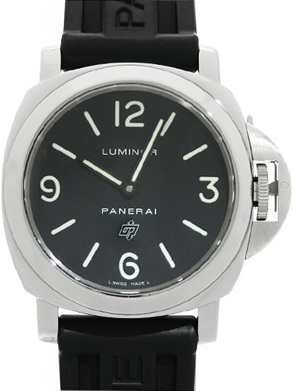 【PANERAI】パネライ『ルミノールベース ロゴ 44mm』PAM00000 M番'10年製 メンズ 自動巻き 6ヶ月保証【中古】