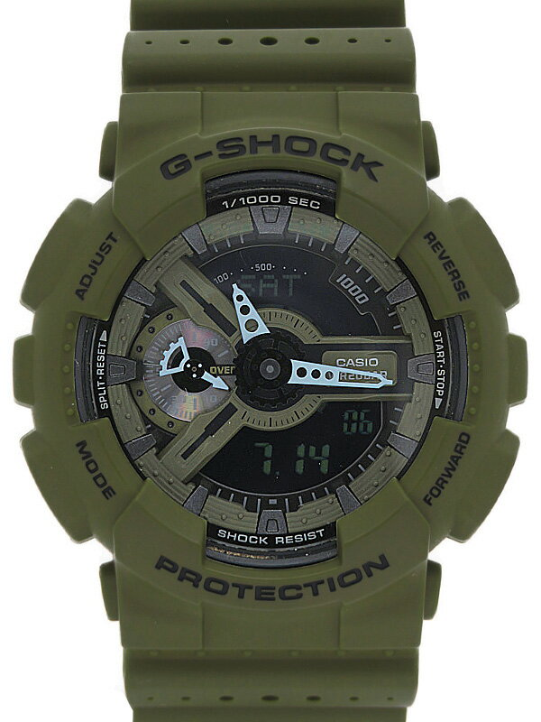 【CASIO】【G-SHOCK】カシオ『Gショック パンチングパターンシリーズ』GA-110LP-3AJF メンズ クォーツ 1週間保証【中古】