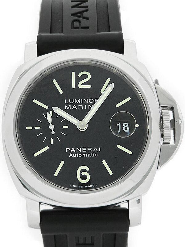 【PANERAI】パネライ『ルミノールマリーナ 44mm』PAM00104 E番'02年頃製 メンズ 自動巻き 6ヶ月保証【中古】
