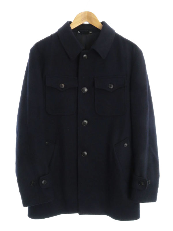 【Hevo】【イタリア製】イーヴォ『ミディアムコート size50』7HALT719 メンズ 1週間保証【中古】