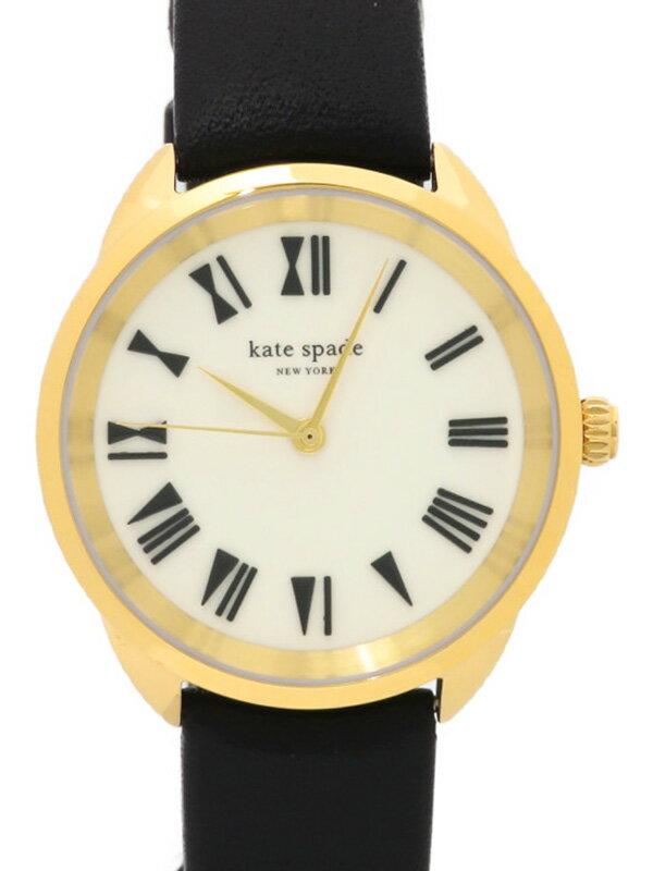 【kate spade】ケイトスペード『クロスタウン』KSW1093 レディース クォーツ 1週間保証【中古】