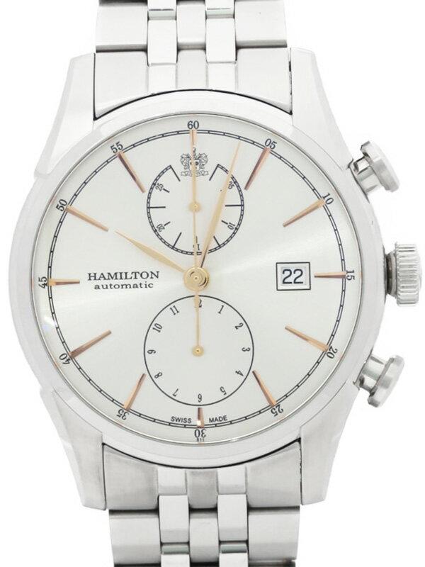 【HAMILTON】【裏スケ】ハミルトン『ジャズマスター スピリットオブ リバティー』H32416181 メンズ 自動巻き 1週間保証【中古】