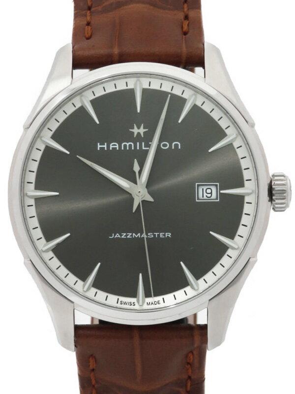 【HAMILTON】【'17年購入】ハミルトン『ジャズマスター ジェント』H32451581 メンズ クォーツ 1週間保証【中古】