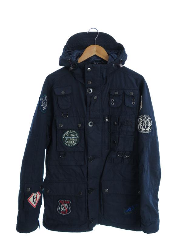 【TOMMY HILFIGER】【Badge Raf Fly Fishing Jacket】【アウター】トミーヒルフィガー『ジャケット sizeL』メンズ ブルゾン 1週間保証【中古】