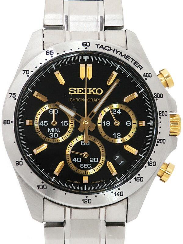 【SEIKO】セイコー『スピリット クロノグラフ』SBTR015 8T63-00D0 6N****番 メンズ クォーツ 1週間保証【中古】