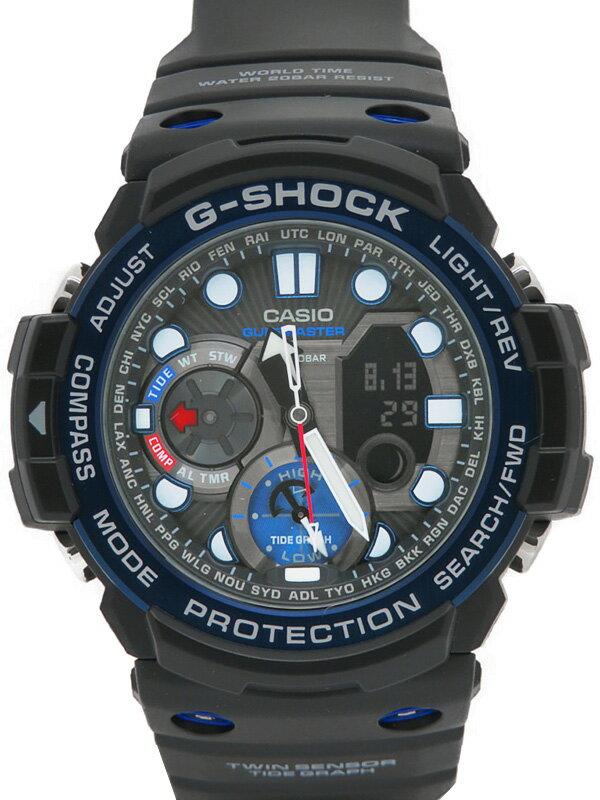 【CASIO】【G-SHOCK】【'18年購入】カシオ『Gショック ガルフマスター』GN-1000B-1AJF メンズ クォーツ 1週間保証【中古】