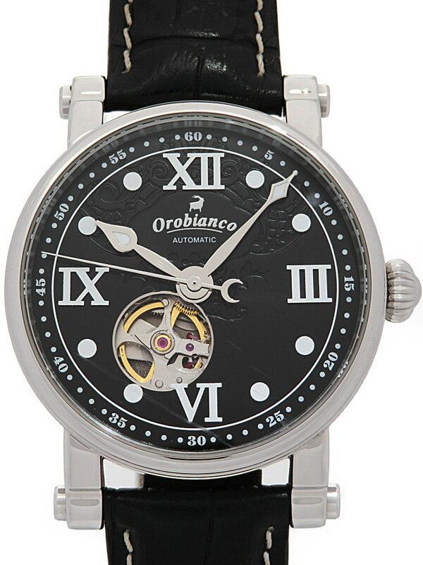 【Orobianco】【裏スケ】オロビアンコ『タイムオラ』OR-0041 メンズ 自動巻き 1週間保証【中古】