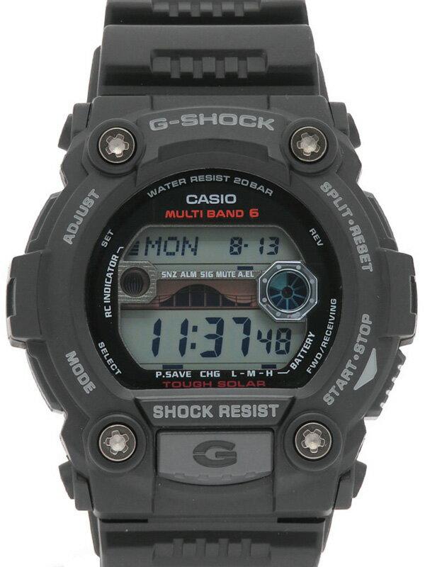 【CASIO G-SHOCK】【海外モデル】カシオ『Gショック』GW-7900-1ER メンズ ソーラー電波クォーツ 1週間保証【中古】