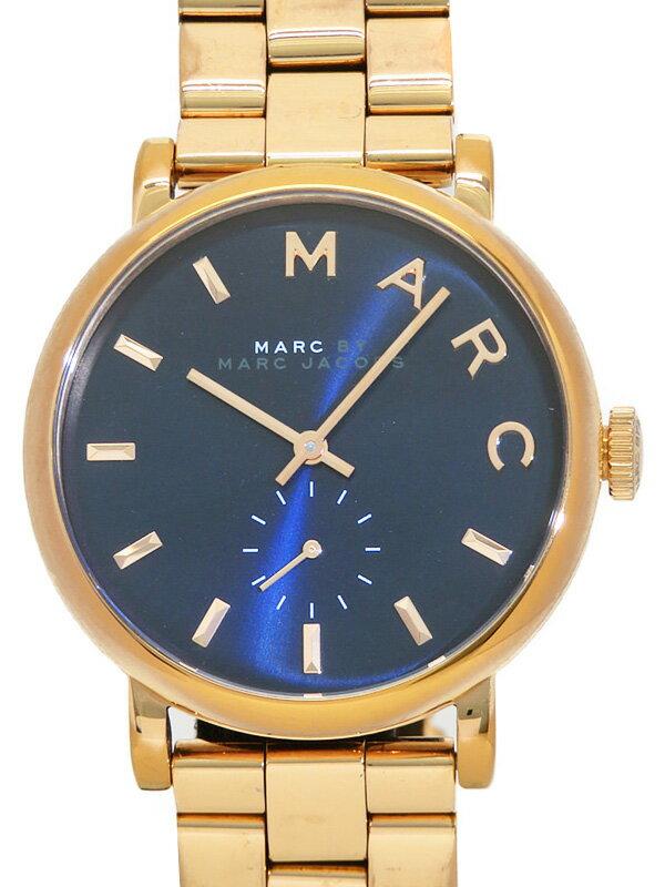 【MARC BY MARC JACOBS】【電池交換済】マークバイマークジェイコブス『ベイカー』MBM3330 レディース クォーツ 1週間保証【中古】