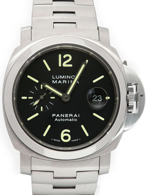 【PANERAI】パネライ『ルミノールマリーナ 44mm』PAM00299 K番'08年製 メンズ 自動巻き 6ヶ月保証【中古】