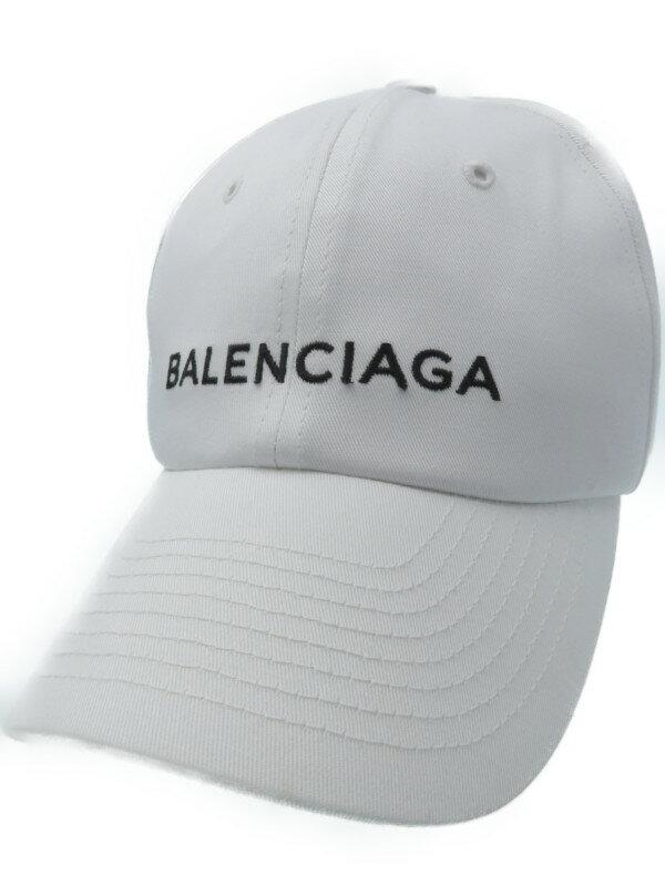 【BALENCIAGA】【クラシックベースボールキャップ】【イタリア製】バレンシアガ『キャップ sizeL 58cm』452245 352B4 ユニセックス 帽子 1週間保証【中古】