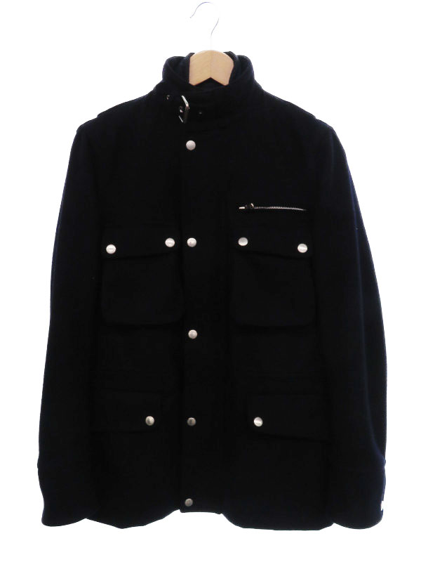 【TOMORROW LAND】【アウター】トゥモローランド『インナー付きカシミヤ混ウールジャケット sizeM』メンズ 1週間保証【中古】