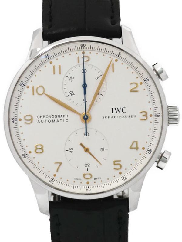【IWC】インターナショナルウォッチカンパニー『ポルトギーゼクロノグラフ』IW371445 メンズ 自動巻き 6ヶ月保証【中古】